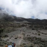 Kili – Day 4 – to Karanga camp (3960m)