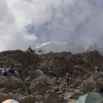 Kili – at Barafu hut