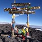 Kili –  the summit (5895m)
