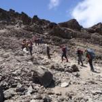 Kili – to Barafu Hut (4600m)
