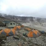 Kilimanjaro – at Barafu Hut