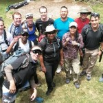 Mt Kilimanjaro – group pic