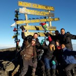 Kilimanjaro – Summit!  Uhuru peak – 5895m