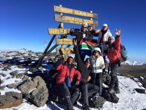 Kili summit pic