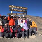 Kilimanjaro – summit – Uhuru Peak (5895m)